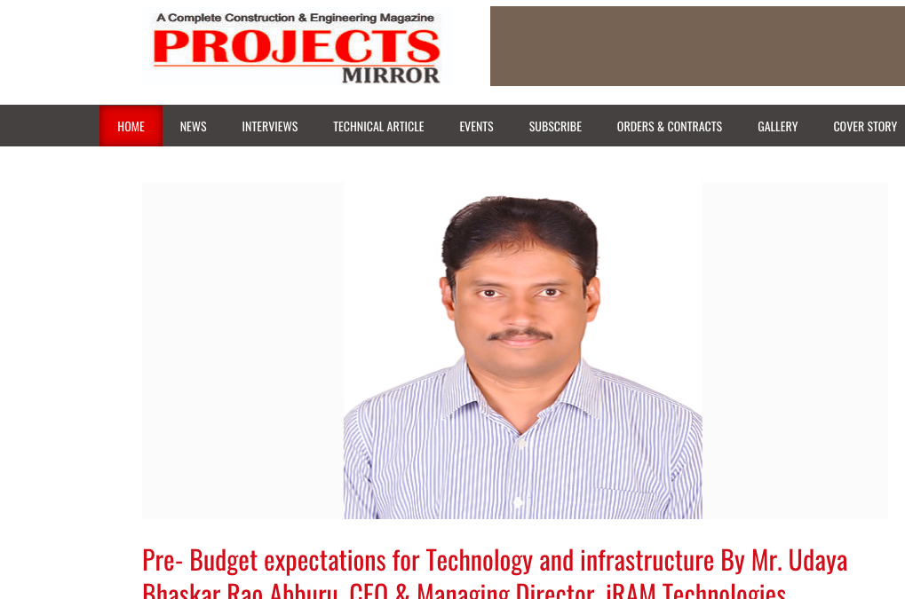 PreBudget in Projects Mirror